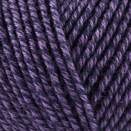 Fino Organic Cotton+Merino Wool, mørk lilla