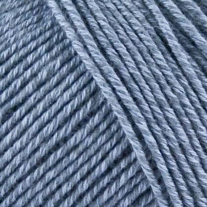 Fino Organic Cotton+Merino Wool, gråblå
