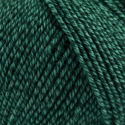Fino Organic Cotton+Merino Wool, safirgrøn