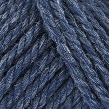 No.6 Organic Wool+Nettles, blå jeans
