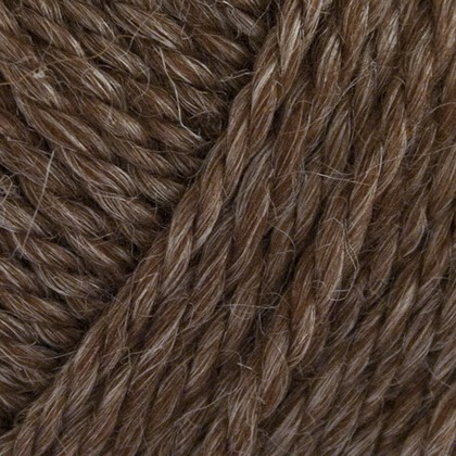 No.6 Organic Wool+Nettles, brun