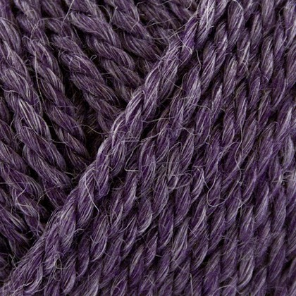 No.6 Organic Wool+Nettles, mørk lilla