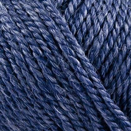 No.6 Organic Wool+Nettles, mørk blå