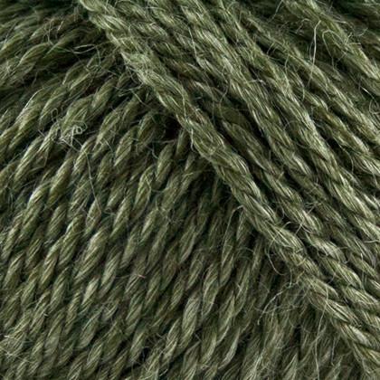 No.6 Organic Wool+Nettles, khaki