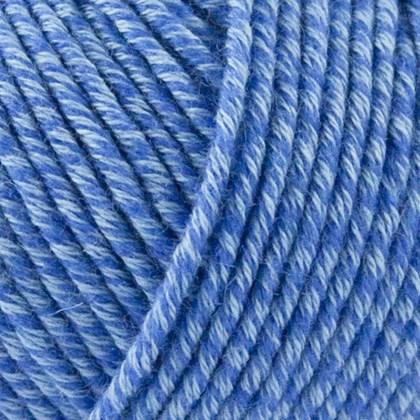 Organic Cotton+Merino Wool, havblå