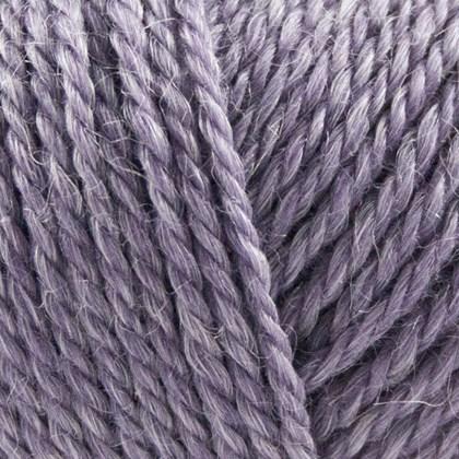 No.4 Organic Wool+Nettles, lys lilla