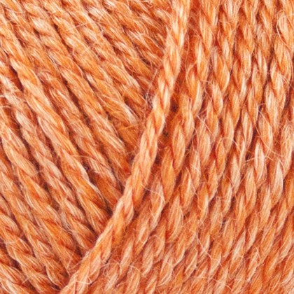 No.4 Organic Wool+Nettles, orange