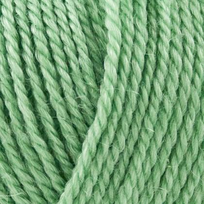 No.4 Organic Wool+Nettles, lys grøn