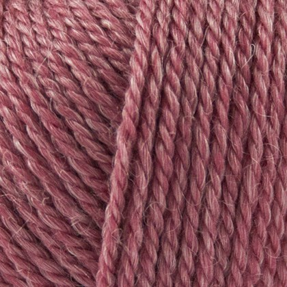 No.4 Organic Wool+Nettles, rosa
