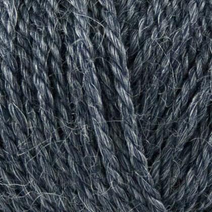 No.4 Organic Wool+Nettles, mørk blå