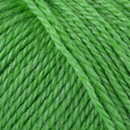 No.4  Organic Wool+Nettles, græs grøn