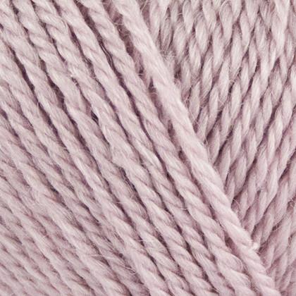 No.4 Organic Wool+Nettles, lys rosa