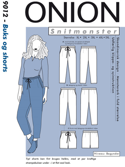 Snitmønster, Buks og shorts