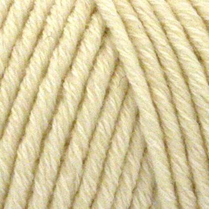 Organic Cotton+Merino Wool, råhvid