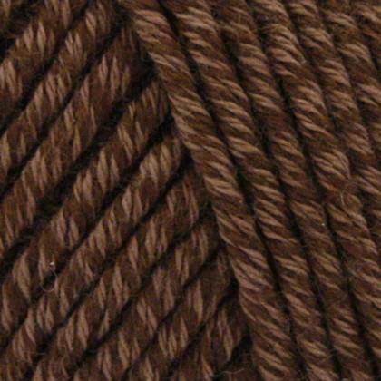 Organic Cotton+Merino Wool, brun