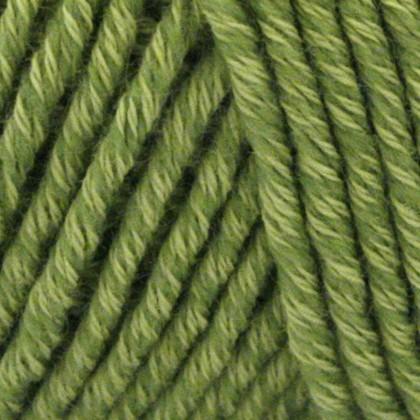 Organic Cotton+Merino Wool, forårs grøn