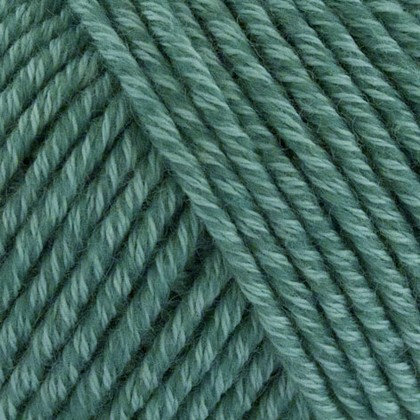 Organic Cotton+Merino Wool, grøn mint