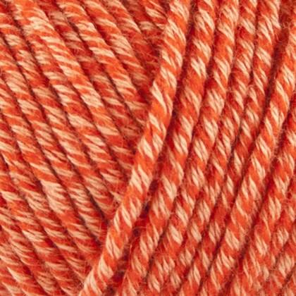 Organic Cotton+Merino Wool, coral orange