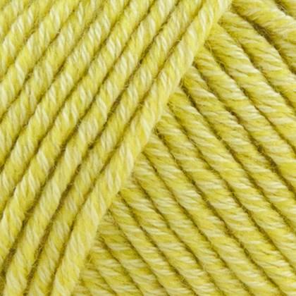 Organic Cotton+Merino Wool, citron gul