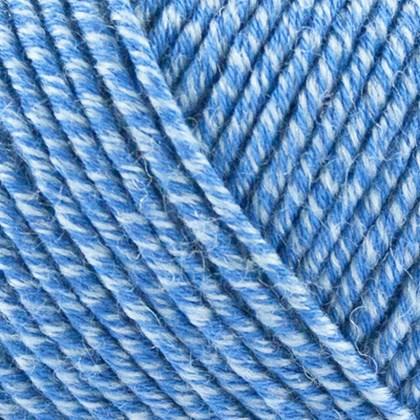 Organic Cotton+Merino Wool, sky blå