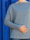 oversize trøje med smalle ærmer