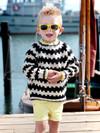 Mønstertrøje NO.6 (Børn)