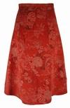 Snitmønster, Nederdele med drejede paneler
