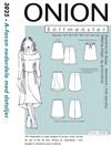 Snitmønster, A-facon nederdele med detaljer