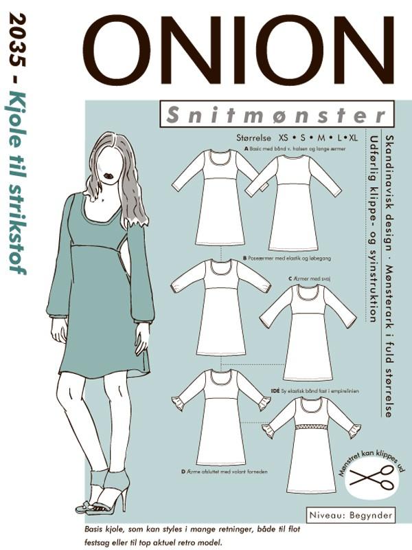 snitmønster kjole