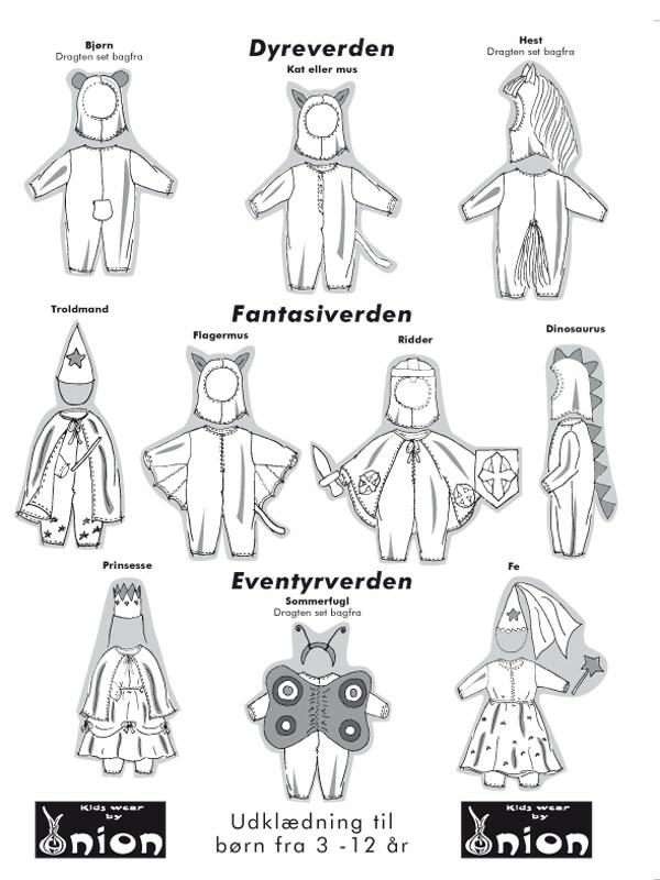 flagermus kostume børn