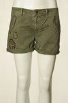 ODD MOLLY  SHORTS, 216M-557 ARMY
