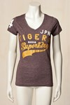 SUPERDRY T-SHIRT, GS1JX036 BORDEAUX