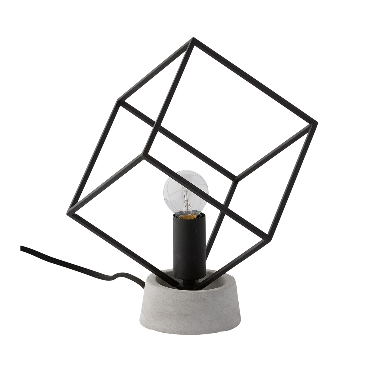 Cr ton maison cube bordlampe for Creton maison