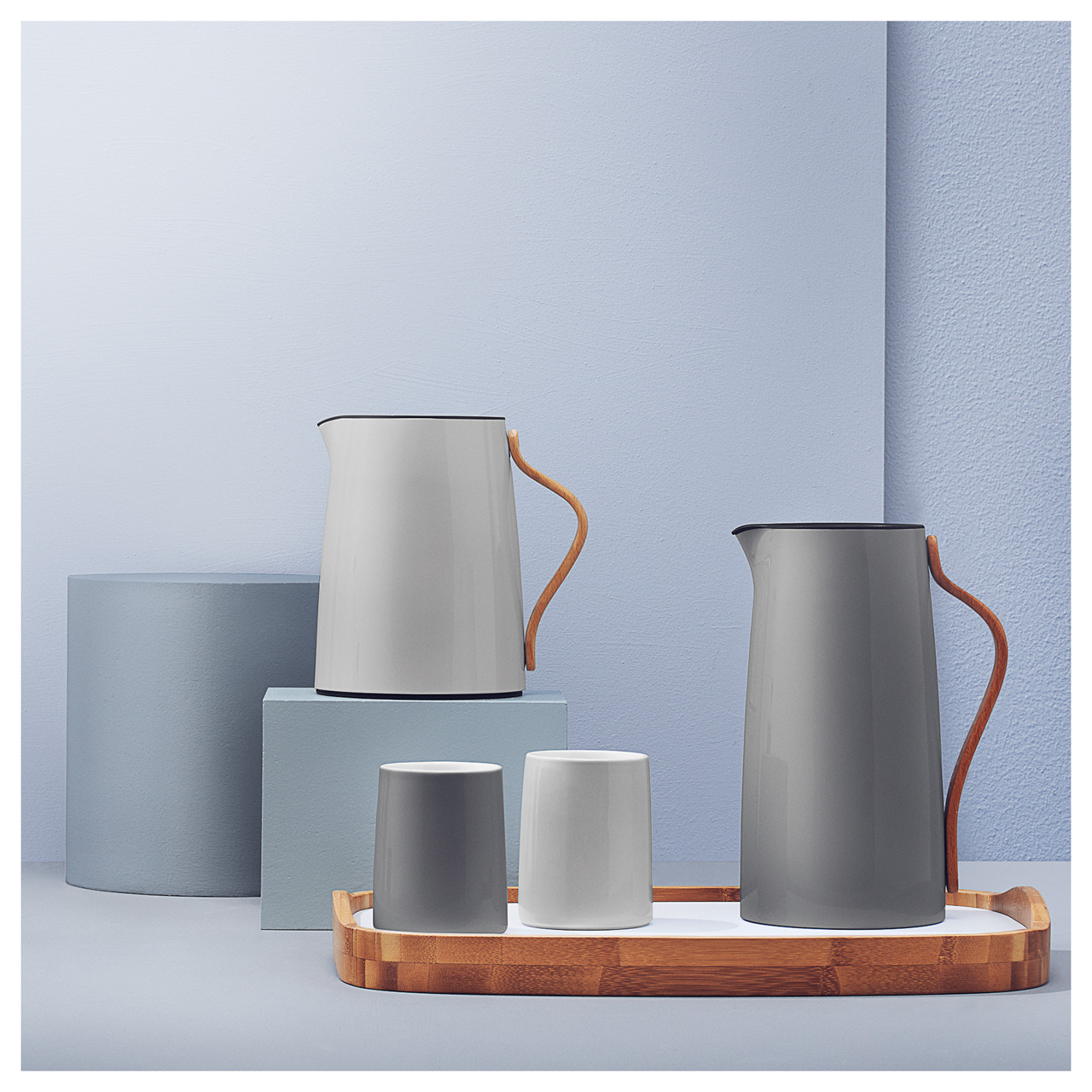 stelton emma termokande til kaffe1 2l gr. Black Bedroom Furniture Sets. Home Design Ideas