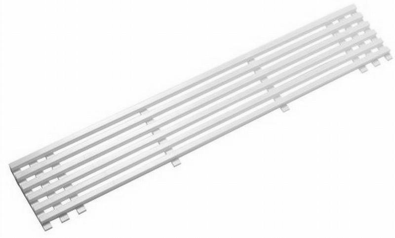 Ventilationsrist hvid plast - køb online - hurtig levering - nettoline.dk
