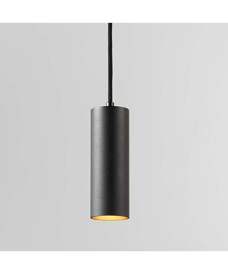 Zero S1 LED Pendelleuchte Schwarz/Gold - Light Point