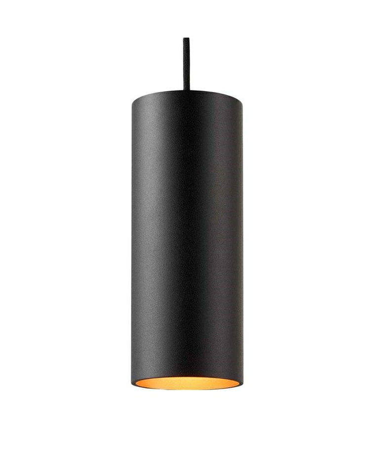 Zero S4 LED Pendelleuchte Schwarz/Gold - Light Point
