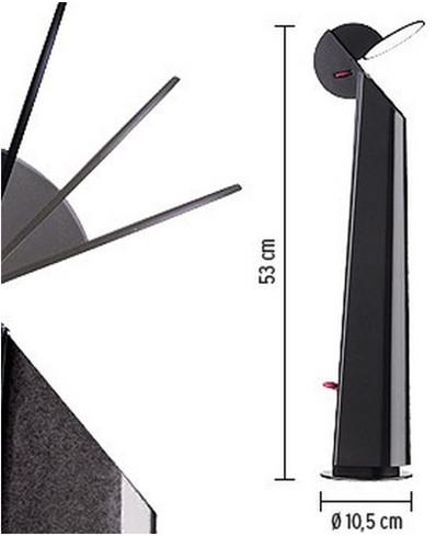 gibigiana stehleuchte flos. Black Bedroom Furniture Sets. Home Design Ideas
