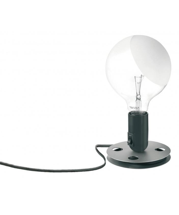 lampadina tischleuchte schwartz flos lampemesteren. Black Bedroom Furniture Sets. Home Design Ideas