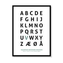 Alfabetplakat - Dreng