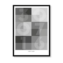 Datoplakat - Sølv
