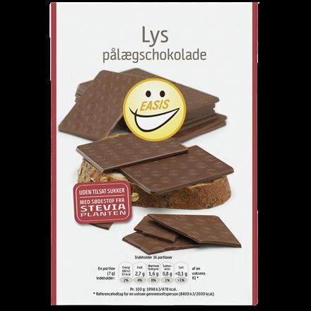EASIS Lys påleggssjokolade