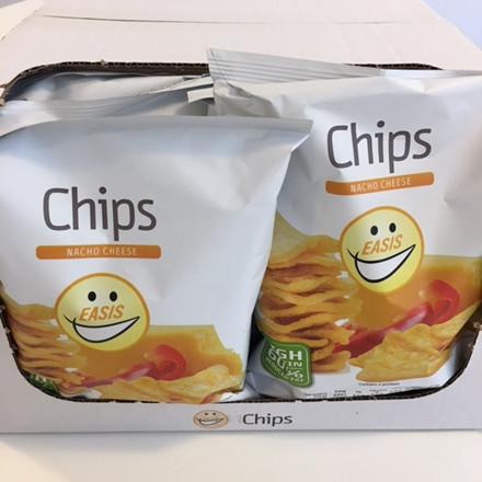 EASIS Crisps Nacho Cheese 14 x 50g (1 box)