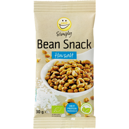 EASIS Simply Bean Snack, Seasalt 30g