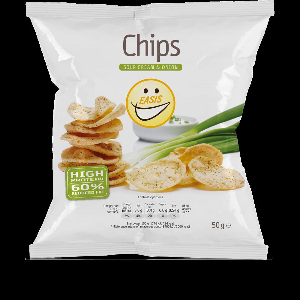 Crisps - sour cream & onion
