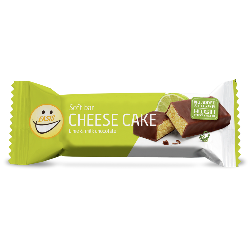 Protein bar cheese cake and lime flavour