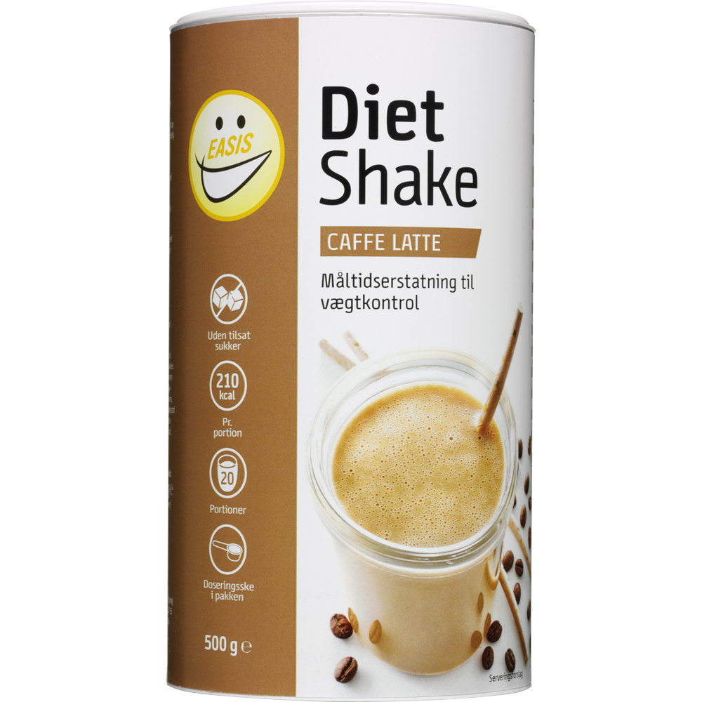 EASIS Diet Shake, Latte 500g