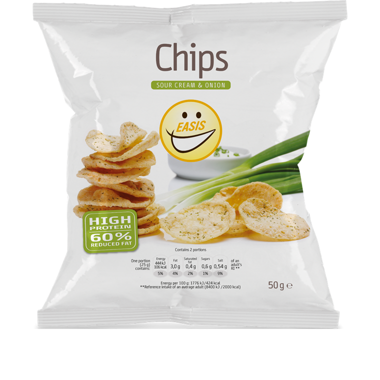 Crisps - sour cream & onion