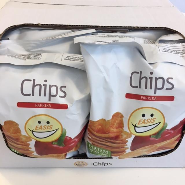 EASIS Crisps Paprika 14 x 50g (1 box)