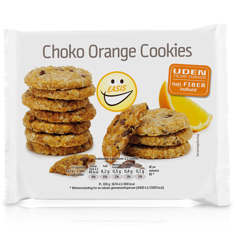 Choco Cookies with Orange